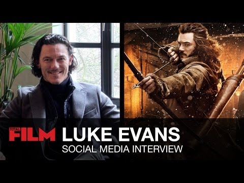 Luke Evans: Social Media Interview (The Hobbit, The Crow, Dracula Untold & more)