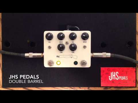 JHS Pedals Double Barrel Dual Overdrive