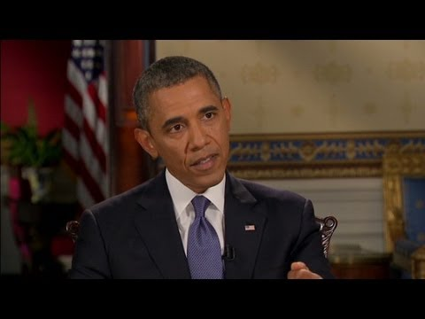 CNN official interview: President Barack Obama on Syria