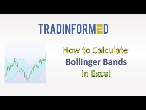 How to make bollinger bands in excel