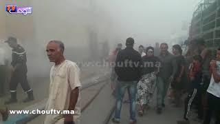 خطيـــــر و بالفيديو..حمام شعلات فيه العافية فكازا و الناس كلهم هربو   |   خارج البلاطو