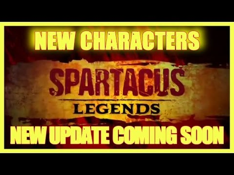 SPARTACUS LEGENDS | NEW CHARATERS & UPDATE ANNOUNCED | ASHUR AGRON | GANNICUS? | HD