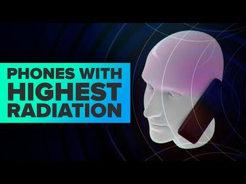 Phones with highest radiation