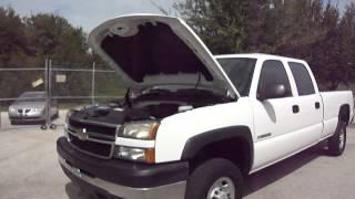 2006 CHEVROLET SILVERADO 2500 HD CREW CAB LONG BED - 80K videos