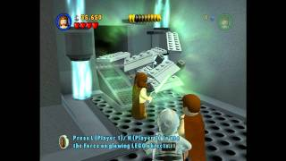 LEGO Star Wars Walkthrough Episode 1 Chapter 1