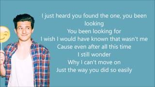 We Don't Talk Anymore - Charlie Puth (Ft. Selena Gomez) (Lyrics)