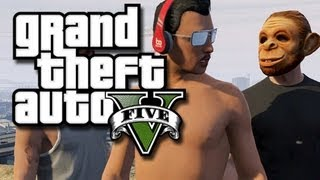 GTA 5 Online Multiplayer Funny Gameplay Moments! (GTA V Online Multiplayer Gameplay)