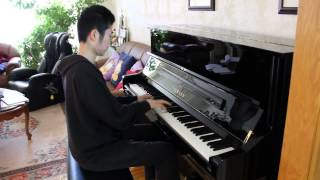 Jason Derulo Wiggle Piano Cover By Aaron