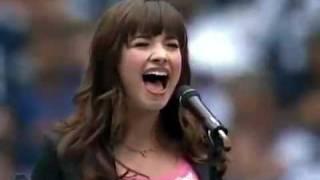 Demi Lovato Singing The National Anthem November 27