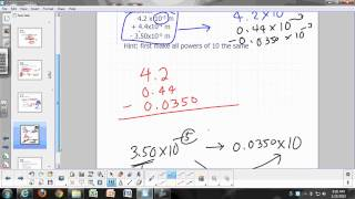 General Chemistry Lecture: Measurements, Part 2 - calculations involving significant digits