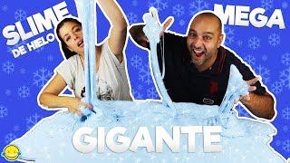 2 GALLONS OF ICE SLIME VS 2 GALLONS OF BLUE ICE SLIME. HACEMOS CHRISTMAS SLIME MEGA GIGANTE DIY