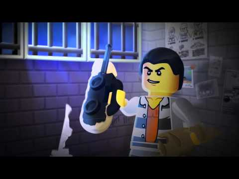 Lego City - Väzenie na ostrove - trapas s balónom