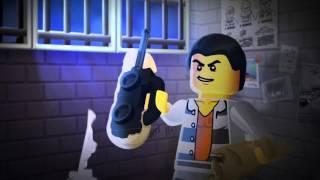Lego City - V�zenie na ostrove - trapas s bal�nom