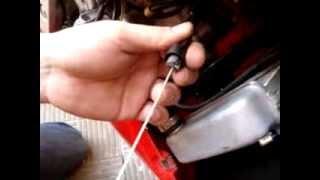 Cambiar cable de acelerador