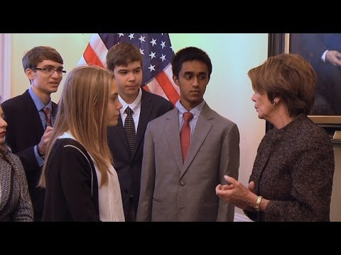 Teen Confronts @NancyPelosi on #NSA