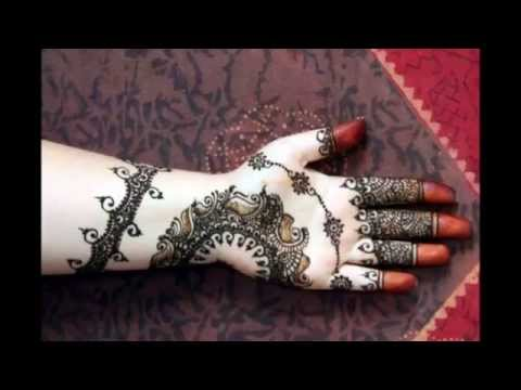 Latest Indian Pakistani Beautiful Bridal Henna Mehendi Design