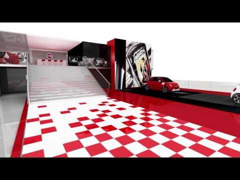Fiat Auto Expo Stall 2014