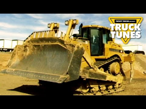 Truck Video for Kids - Bulldozer