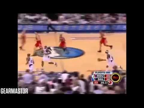 Yao Ming and Tracy McGrady vs Mavericks Full Highlights (2005 WC1R GM7) (2005.05.07)