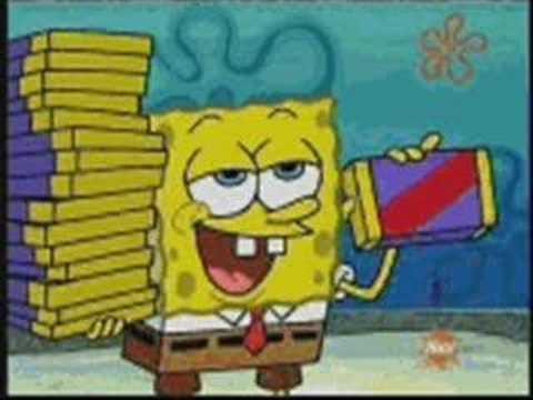 spongebob squarepants-crank dat, spongebob squarepants-crank dat also including fairly odd parents first song spongebob theme song and soulja boy-crank dat