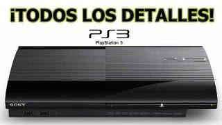 PS3 Super Slim/Ultra Slim ¡Descubre Todos Los Detalles