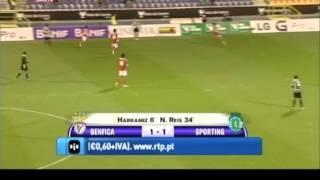 Benfica - 1 Sporting - 2, 1/2 Final da Taça de Honra AF Lisboa 2013/2014
