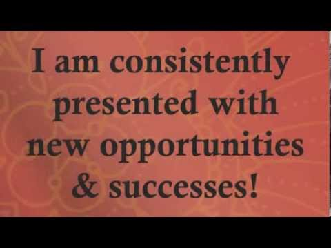 Positive affirmations for abundance more money jobs