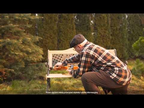 Sadolin - Film instruktażowy - malowanie ławki