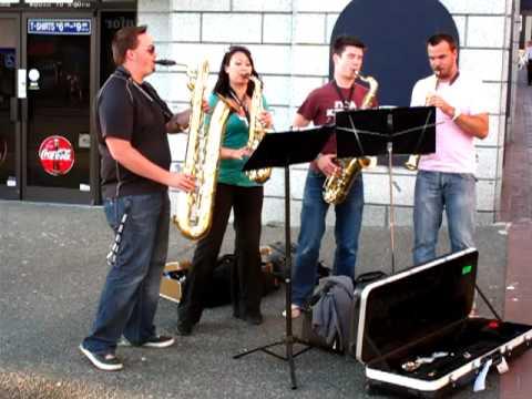 Casual Sax Quartet - Super Mario Medley