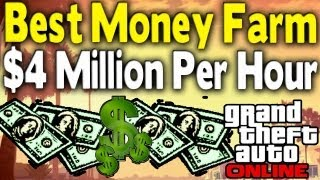 GTA Online BEST MONEY FARM $4 Million & 700k RP Per Hour