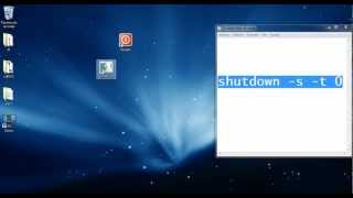 Crear Un Icono Para Apagar La PC Rapidamente (Windows XP