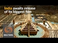 India awaits release of Baahubali 2, its biggest film yet