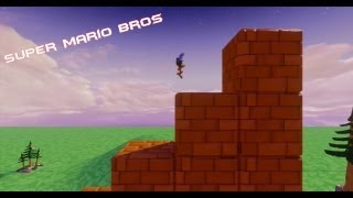 Disney Infinity Super Mario Bros 1-1 Toy Box Creation