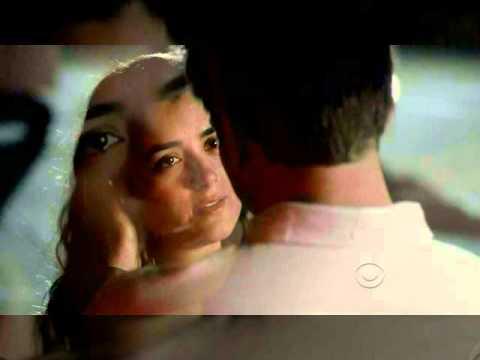 NCIS Tiva Kiss **EDIT**  Longer Kiss at the Airport//Ziva tells Tony