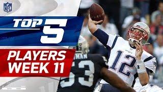 Top 5 Player Performances Week 11 | NFL Highlights