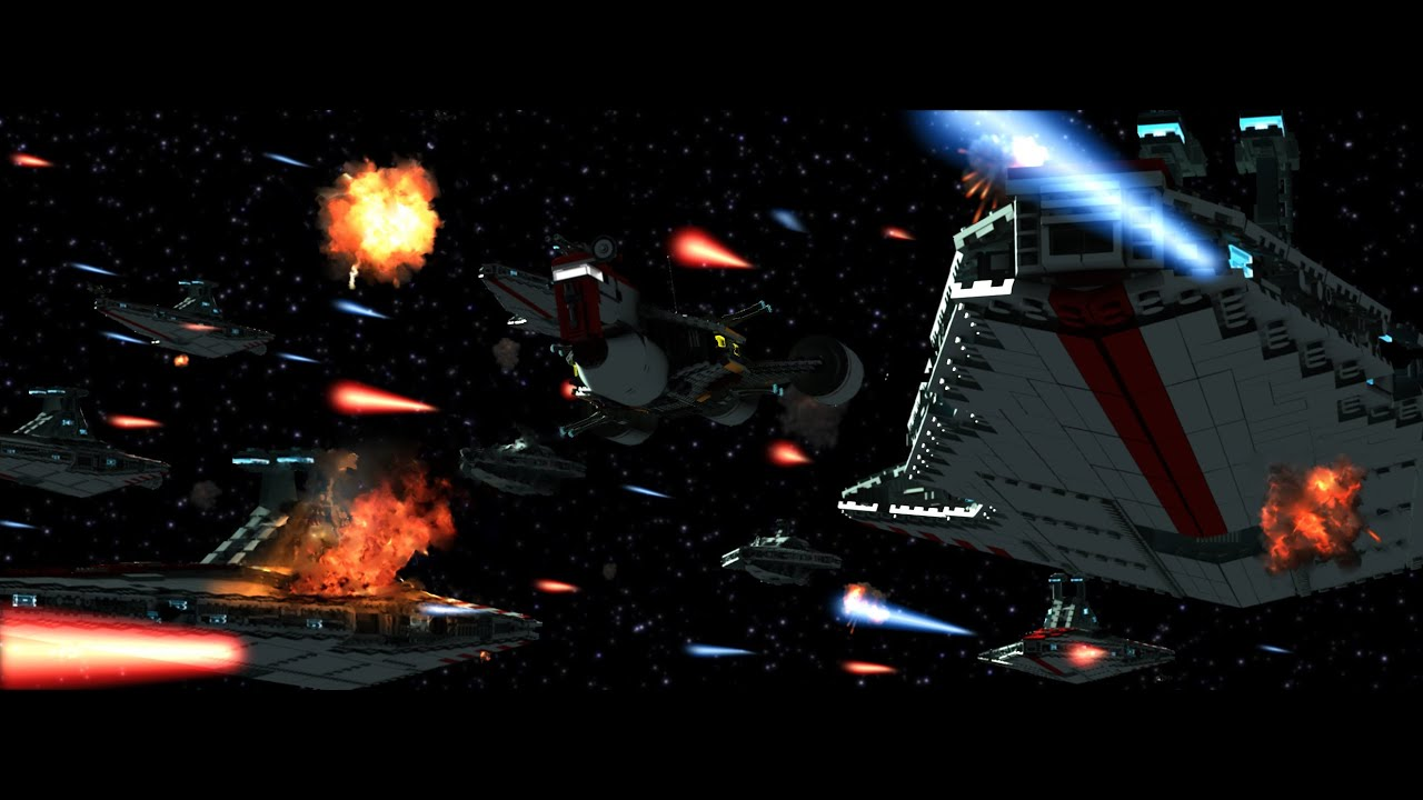 Lego Star Wars the Search II - Space Battle Teaser ...