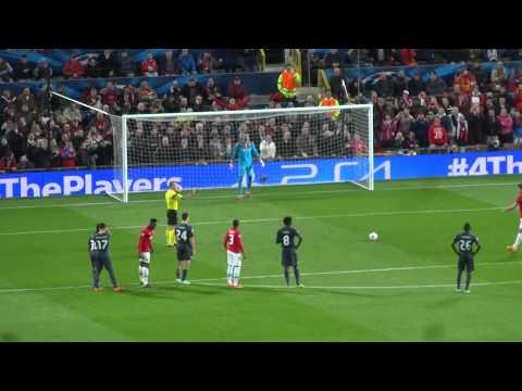 Manchester United - Olympiacos 19-03-2014 1-0 Van Persie