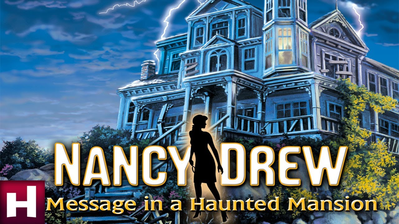 nancy drew message in a haunted mansion official trailer