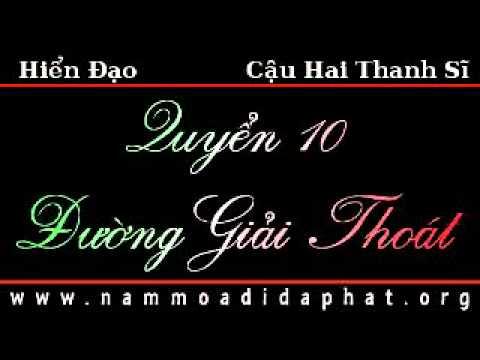 PGHH: Hiển Đạo - Đường Giải Thoát  (Quyển 10 - Thanh Sĩ)