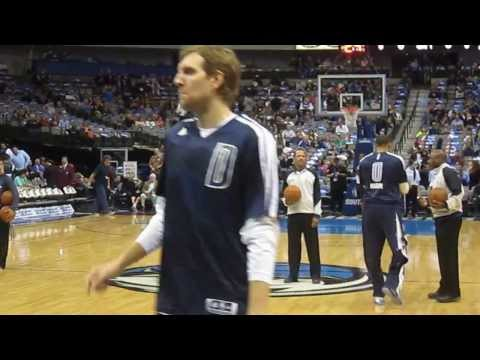 Dallas Mavericks Shootaround 1-18-14.