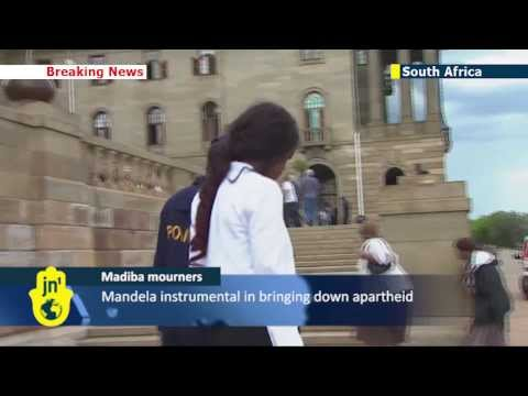 Mandela mourners turned away in S. Africa