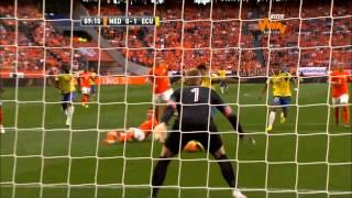(Resumen) Holanda 1-1 Ecuador. Amistoso Internacional