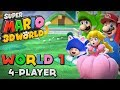 3D World :  1 (4-Player)  - Super Mario