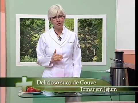 Dra. Gisela ensina como fazer Suco de Couve