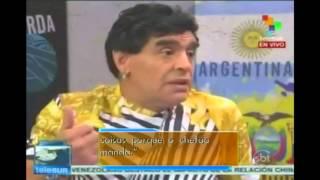 O ex-craque Diego Maradona, dono de opiniões polêmicas, decidiu atacar seu maior rival no âmbito do futebol: Pelé. Em seu programa
