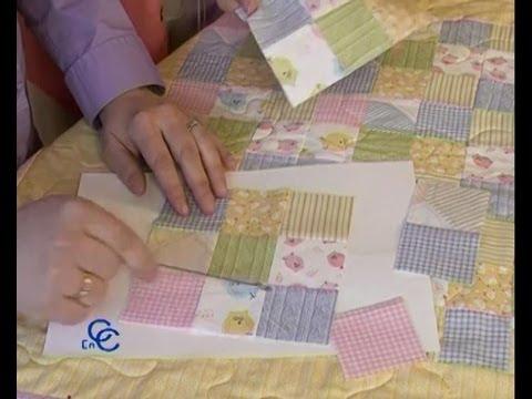 Retales o patchwork como hacer una colcha cojines o - Como hacer pachwork ...