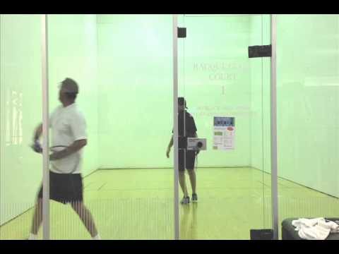 How to Play Racquetball - Jim Game Play Analysis
