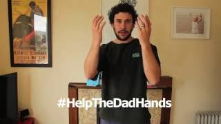 A dad speaks out about his struggle with baby buttons. #HelpTheDadHands