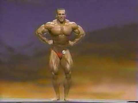 Bodybuilder Mike Francois 1993 USA