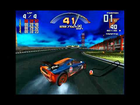 Supermodel Emulator v0.2 Scud Race 60 FPS
